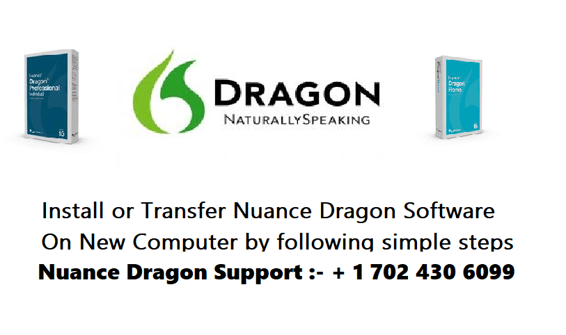 install nuance dragon software